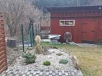 Okrasná skalka - chata k pronajmutí Horní Bečva