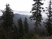 Podzimní místní krajina - chata k pronájmu Horní Bečva