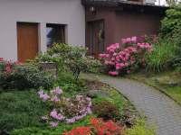 Petrův domeček vchod - pronájem chaty Nýdek
