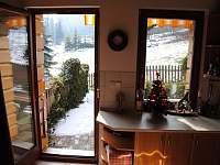 Honzův apartmán pohled na terasu - Frýdlant nad Ostravicí - Metylovice