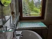 Vaškův apartmán koupelna s WC - pronájem chalupy Frýdlant nad Ostravicí - Metylovice