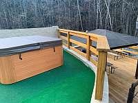 venkovní terasa s vířivkou - Frýdlant nad Ostravicí