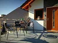 Small terasa - apartmán k pronajmutí Prostřední Bečva