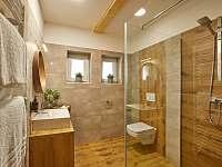 Wellness koupelna - apartmán ubytování Prostřední Bečva