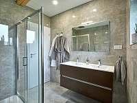 Apartmán DeLuxe koupelna - k pronájmu Prostřední Bečva