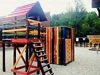 Dětské hříště - vila k pronajmutí Horní Bečva