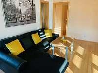 Obývací pokoj - vila k pronájmu Horní Bečva