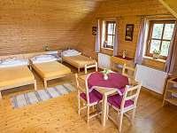 čtyřlůžkový pokoj č.1 - Staré Hamry