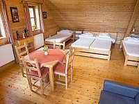 čtyřlůžkový pokoj č.2 - Staré Hamry