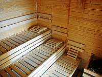 sauna v dřevěnce - Staré Hamry