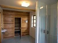 vstup do sauny - Staré Hamry