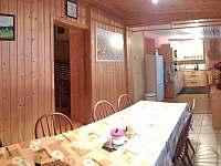 Kuchyňka s jídelnou - Dolní Lomná
