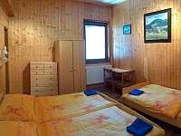 Zelený pokoj - chalupa ubytování Dolní Lomná