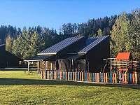 dětské hřiště Horní Bečva - apartmán k pronájmu