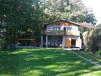 chata s pergolou - ubytování Hukvaldy