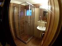 koupelna - chata k pronajmutí Hukvaldy