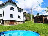 Chalupa Bečvanka s bazénem - ubytování Horní Bečva