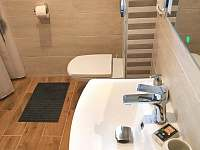 Koupelna přízemí - pronájem chalupy Horní Bečva