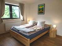 Ložnice č.2. s manželskou postelí - Horní Bečva