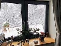 Zima z okna - Horní Bečva