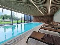 bazen - apartmán ubytování Čeladná