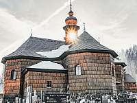 Dřevěný kostel Velké Karlovice -