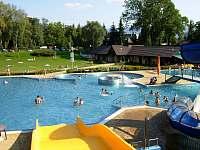 Aquapark ve Frenštátě - z tobogánu -