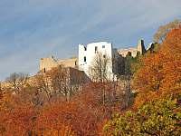 hrad Hukvaldy - jedna z největších moravských zřícenin - Frenštát pod Radhoštěm
