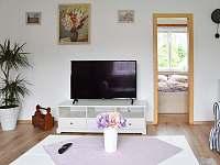 internet v TV, netflix, youtube atd. - chalupa ubytování Frenštát pod Radhoštěm