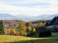 panorama Beskyd z Horeček - Frenštát pod Radhoštěm