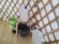 pitná voda z hlubinného vrtu - chata k pronájmu Smilovice
