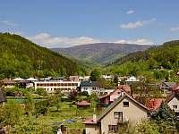 Výhled z objektu přímo na horu Radhošť - Dolní Bečva
