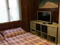 Ložnice 1 - chalupa k pronájmu Prostřední Bečva