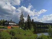 Pohled na penzion - ubytování Horní Bečva