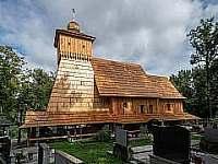 Obnoveny kostel - Guty