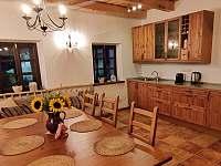 Kuchyňská linka - chalupa k pronajmutí Palkovice