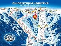 Skicentrum Kohútka - chalupa k pronajmutí Nový Hrozenkov