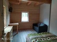 Přízemí Pokoj č.2 - roubenka ubytování Řeka u Smilovic