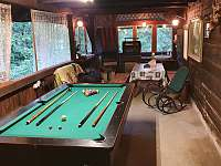 Billiard - pronájem chalupy Nýdek