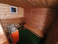 sauna - chalupa k pronájmu Nýdek