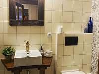 Koupelna 2 - chata ubytování Dolní Lomná - Bocanovice