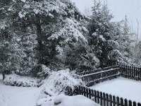 Novina v zimě - Dolní Lomná - Bocanovice
