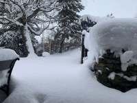 Pořádná zima na Novině - Dolní Lomná - Bocanovice