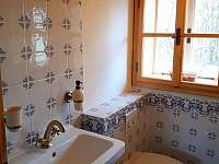 Malá koupelna u ložnic - Komorní Lhotka