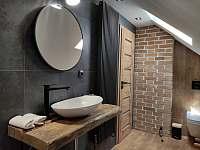 2.koupelna - pronájem chalupy Frýdlant nad Ostravicí