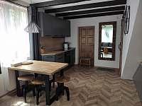 Kuchyň - chalupa ubytování Frýdlant nad Ostravicí