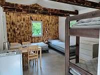 Vnitřní vybavení chatek - ubytování Prostřední Bečva
