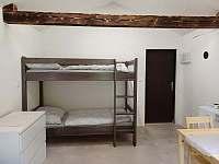 Vnitřní vybavení chatek - pronájem Prostřední Bečva