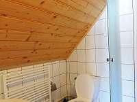 koupelny jsou podobné ve všech pokojích, jen na pokoji č. 5 je vana