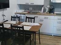 kuchyň - chalupa ubytování Velké Karlovice